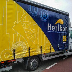 Bedrukt, Vrachtwagenzeil, Vrachtwagendoek, Goedkoop