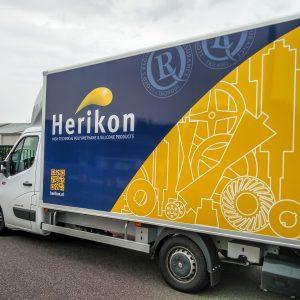 Belettering, Vrachtwagen, Bedrijfswagen