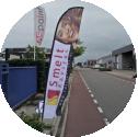 Beachflags, Goedkoop, Twente, Reclame, Vlaggen