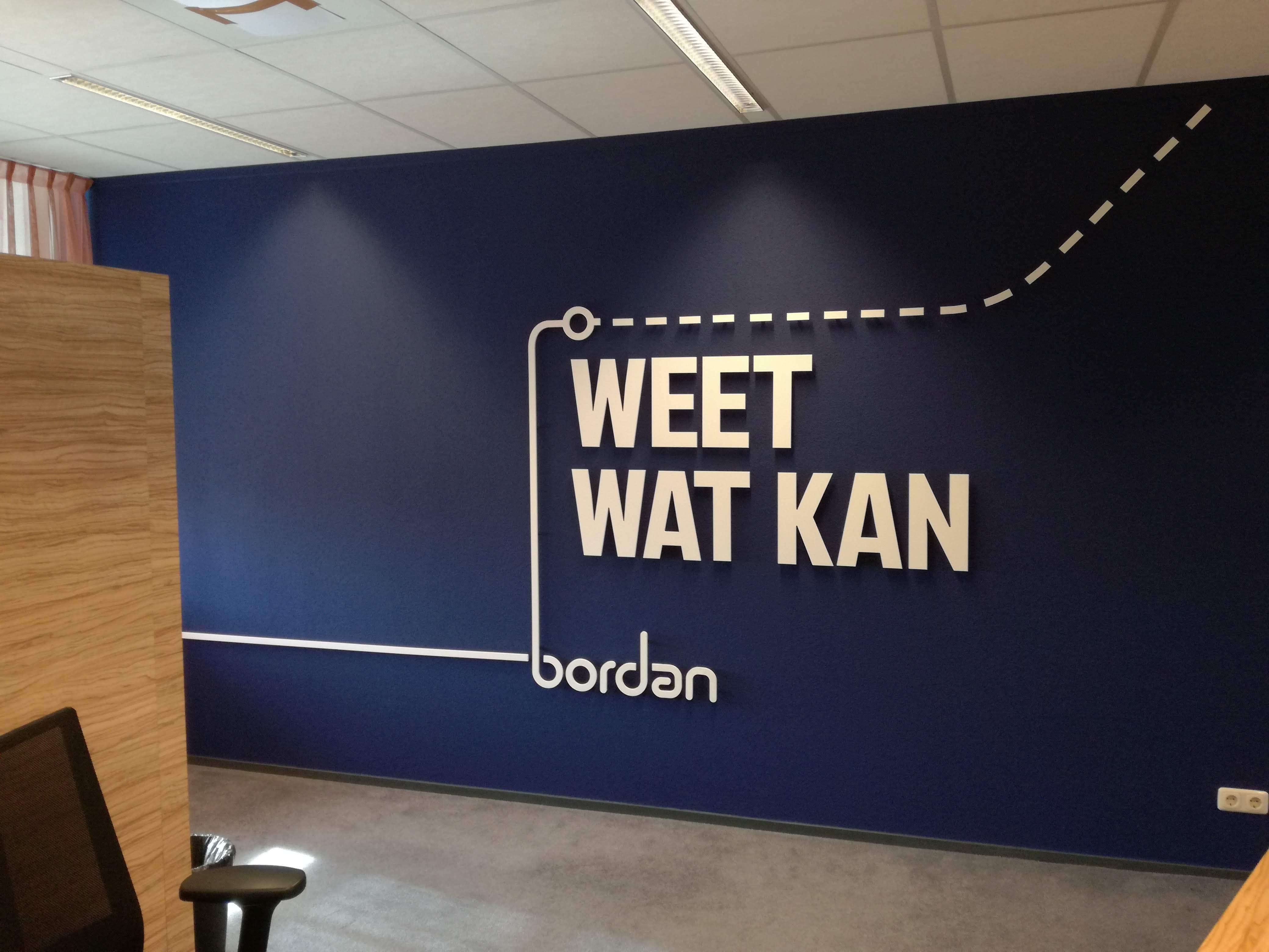 Freesletters, wanddecoratie, textielframe, frameindoorreclame, Almelo, Rijssen, Vriezenveen, reclame, binnenreclame,