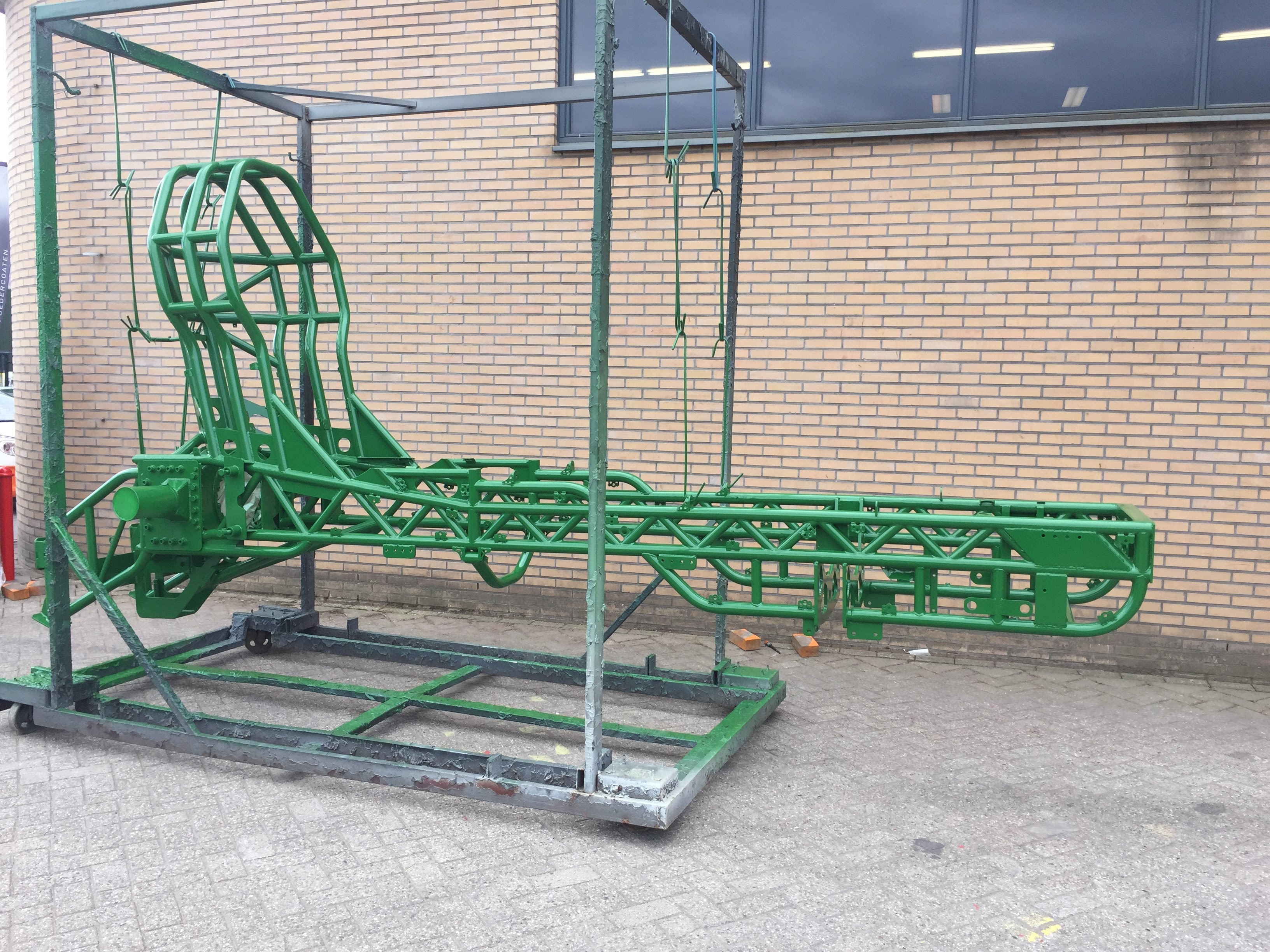 Stralen, poedercoaten, primer, duurzaam, Vriezenveen, Twente, Tractor pulling