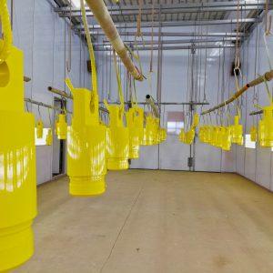 Spuiten, stralen, natlak, zandstralen, spuiterij, Vriezenveen, Almelo, AS Paint, Weles, Machinefabriek,