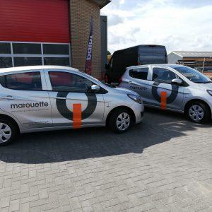 autobelettering, wagenpark, voertuigreclame, belettering, autoreclame, as paint, marquette, detachering, Vriezenveen, Almelo, Fleetmarking