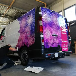 carwrap, belettering, autobelettering, stickers, Vriezenveen, Holten, AS Paint, Colorful Fireworks Events,