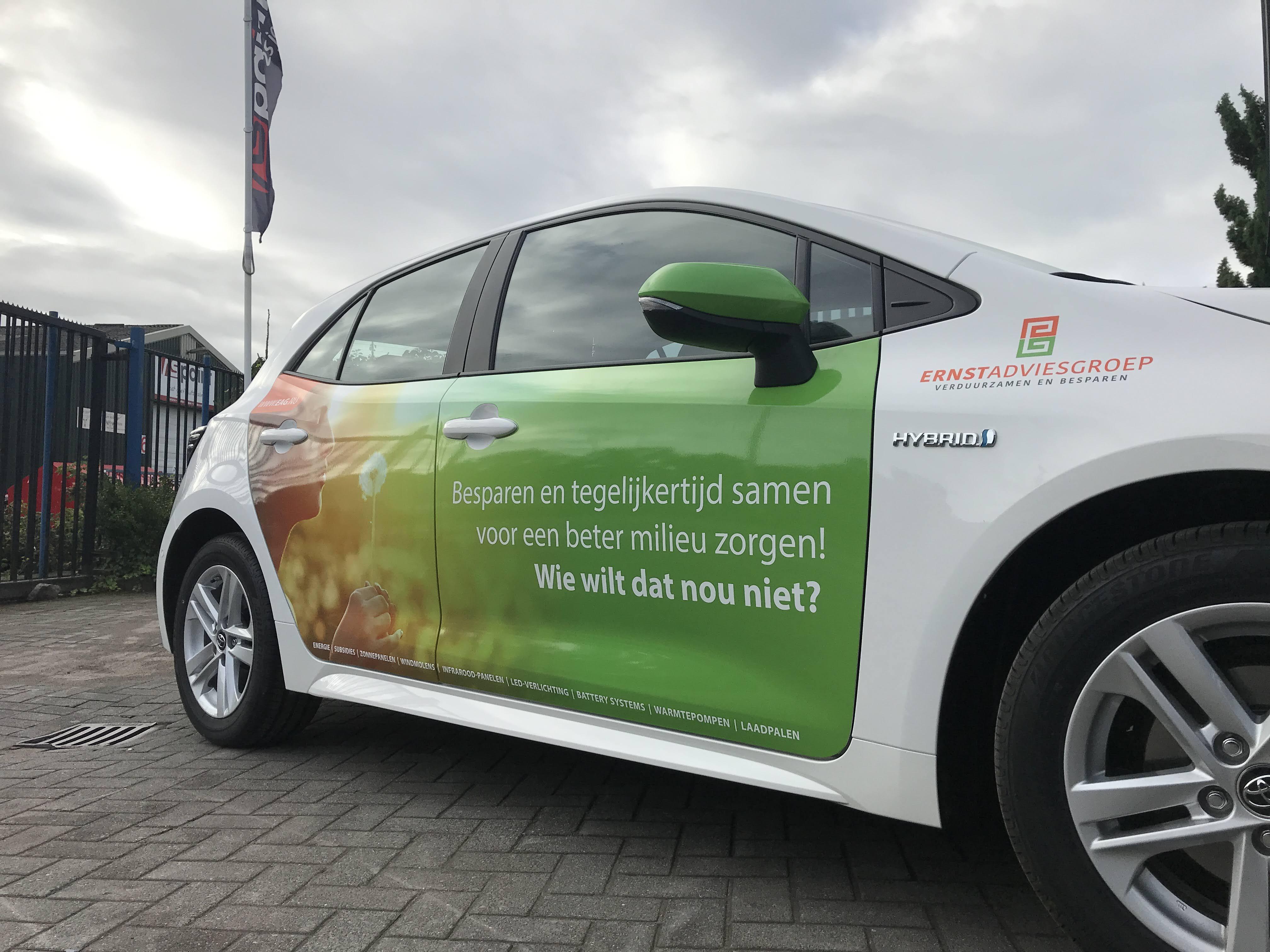 reclame, autoreclame, belettering, voertuigbelettering, bedrijfsreclame, sign, autobelettering, Twente, AS Paint, Ernst Adviesgroep, Nijverdal, Vriezenveen