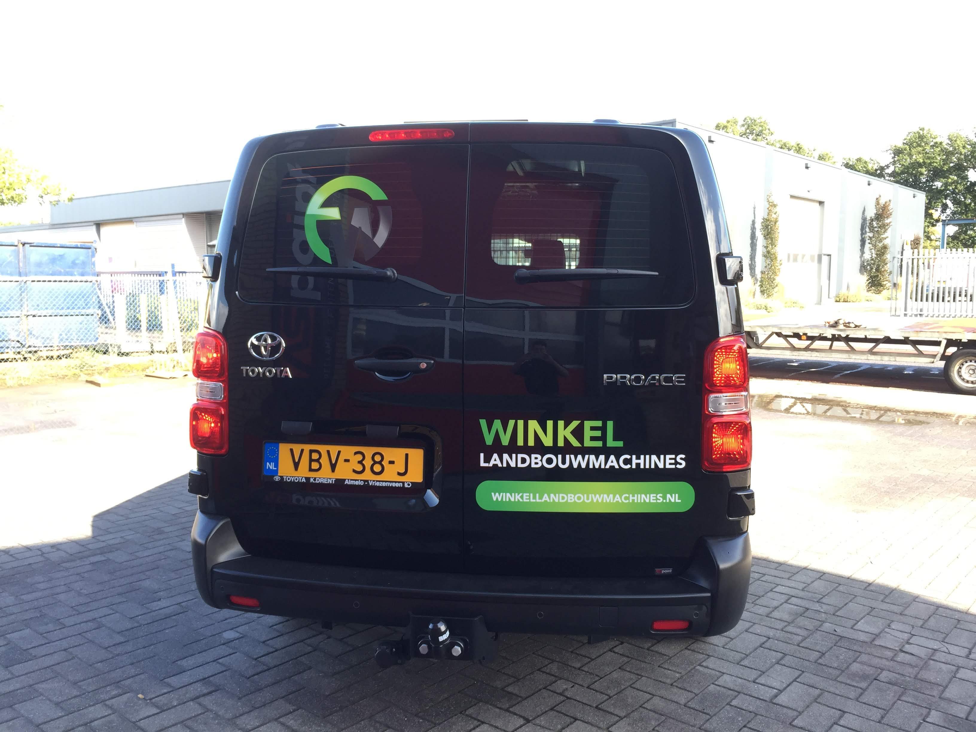 belettering, reclame, sign, voertuigreclame, autobelettering, print, AS Paint, winkel landbouwmachines, Vriezenveen, Twente, Hoge Hexel, Twenterand