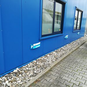 parkeerbord, bordje, aluminium, full color print, gebogen aluminium, Huisman, AS Paint, Vroomshoop, Twenterand