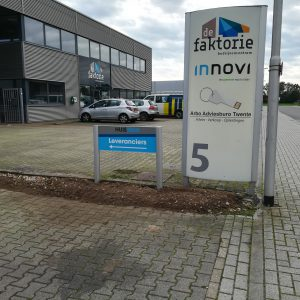 bewegwijzering, outdoor, frame, paneel, aluminium, Huisman, Vroomshoop, Twente, AS Paint, Vriezenveen