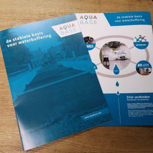 Brochure, folder, magazine, drukwerk ,as paint, vriezenveen, ontwerp , dtp, aquabase