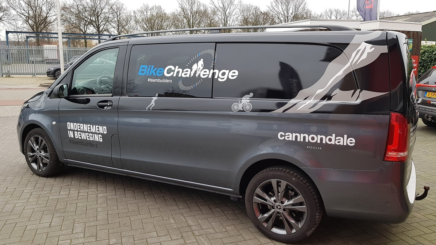Bike, Challenge, Bike Challenge, Wrappen, Wrapping, Belettering, AS, AS Paint, Paint, Virezenveen, Cannondale