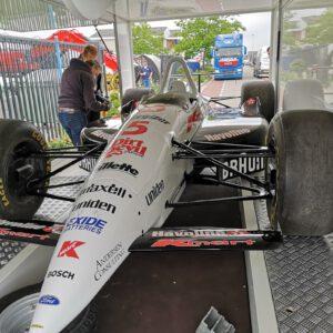 restaureren, restauratie, sportauto, raceauto, racewagen, indy, car, indy car, natlakken, renovatie, reclame, sign